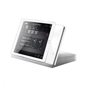 iTop Pro Alu silber, Glas weiss