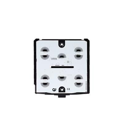 KNX-Glastaster schwarz Grundmodul