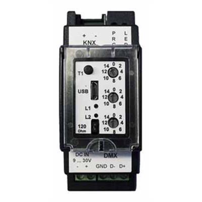 KNX-GW2-DMX-2TE Funktionsmodul V2
