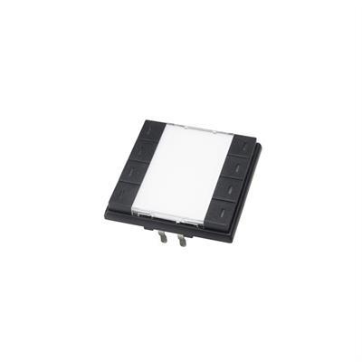 KNX-Taster 8-fach schwarz