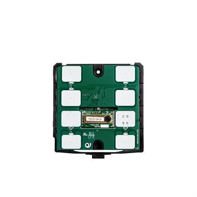 KNX-Thermostat / -Humidistat CO2 6 Tasten schwarz