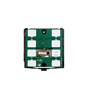 KNX-Thermostat / -Humidistat CO2 6 Tasten schwarz