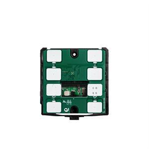 KNX-Thermostat / -Humidistat mit 6 Tasten schwarz