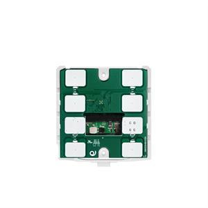 KNX-Thermostat / -Humidistat mit 6 Tasten weiss