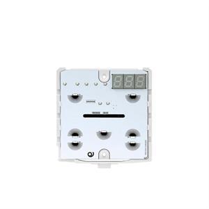 KNX-Thermostat mit 7 Tasten weiss