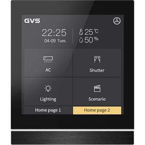 """KNX-Touch-Panel V40 4.2"""" schwarz"""