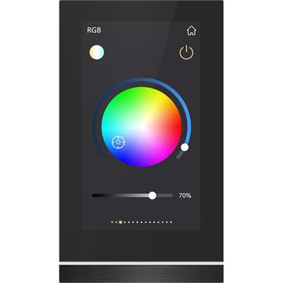 """KNX-Touch-Panel V50 5"""" schwarz"""