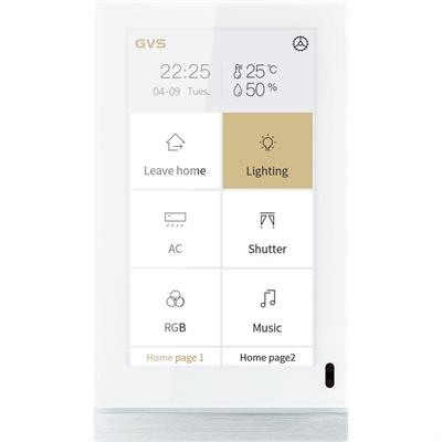 """KNX-Touch-Panel V50 5"""" weiss"""