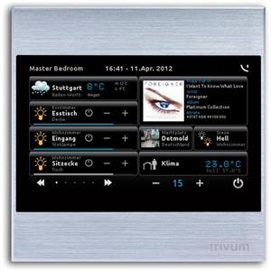 """TouchPad 4"""" silber"""