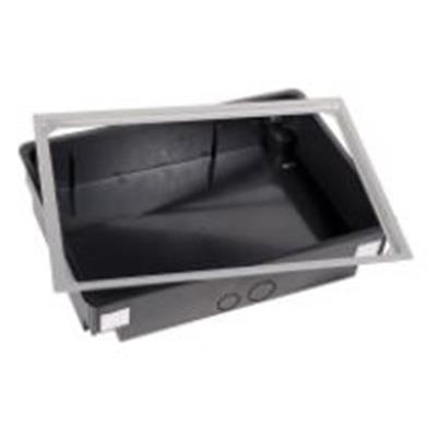 Unterputzdose BB-Mini Aluminium silber