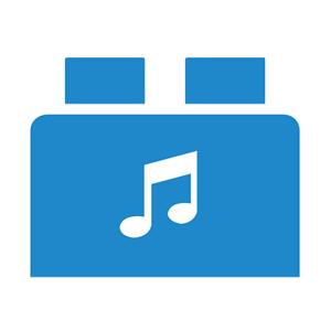 Brickbox bleu: Audio/Video