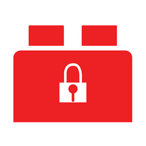 Brickbox rouge: Security
