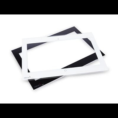 Ensemble de vitres frontales Controlmini (noir & blanc)