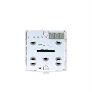 KNX Thermostat / hygrostat avec 7 touches blanc