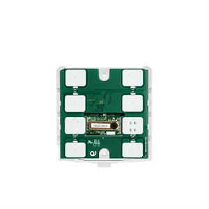 KNX Thermostat / hygrostat CO2 avec 7 touches blanc