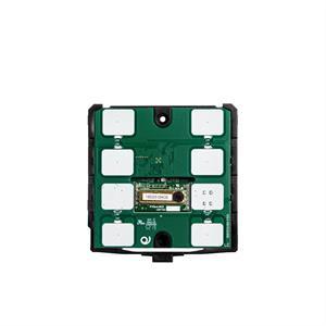KNX Thermostat / hygrostat CO2 avec 7 touches noir
