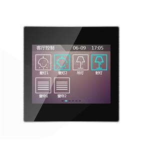 "KNX Touch Panel 3.5"" noir"