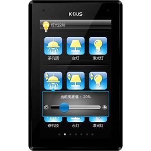 """KNX Touch Panel 5"""" noir"""