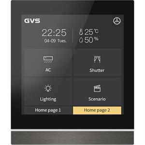 """KNX Touch Panel V40 4.2"""" gris"""