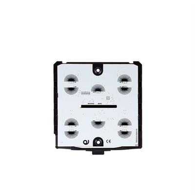 Module de base pour bouton-poussoir en verre noir