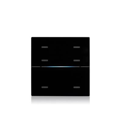 Recouvrement en verre RGB Standard noir