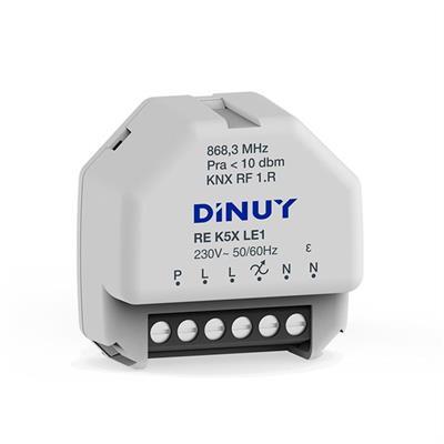 S-Mode variateur universel radio encastré pour LED 230V