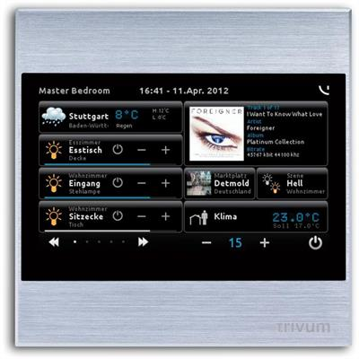 """TouchPad 4"""" argent"""