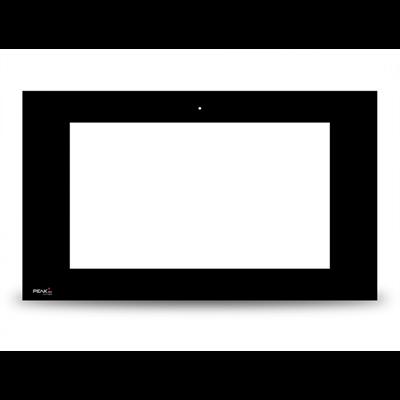 Vitre frontale noire Controlpro sans PEAKnx Logo