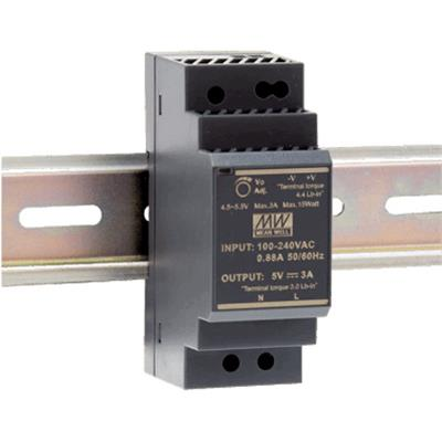 Alimentazione elettrica DIN rail 36W 21.6-29V/1.5A