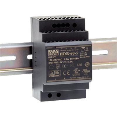 Alimentazione elettrica DIN rail 60W 21-29V/2.5A