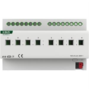 Attuatore di commutazione con misura di corrente a 8 canali 16A