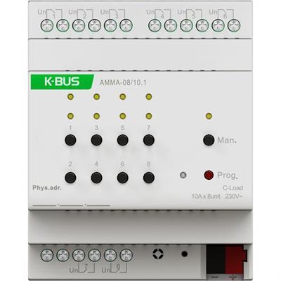 Attuatore multifunzione a 8 canali 10A