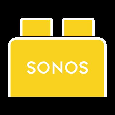 Brickbox giallo: Sonos