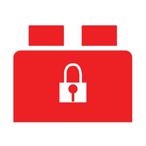 Brickbox rosso: Security