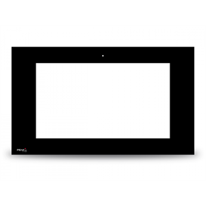 Controlpro mascerina nero in vetro senza PEAKnx logo