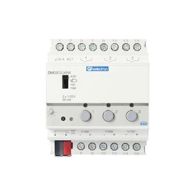 Dimmer 1-10 V a 3 canali