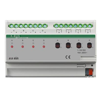 Dimmer 1-10V a 4 canali