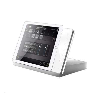 iTop Plus Alu argento, vetre bianco