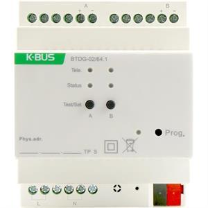 KNX/DALI Gateway 2 canale
