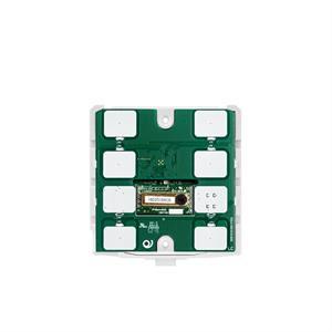 Termostato/igrostato CO2 KNX con 7 pulsanti bianco
