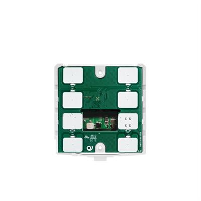 Termostato/igrostato KNX con 7 pulsanti bianco